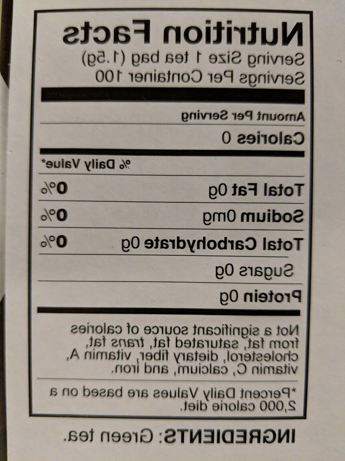 KIRKLAND SIGNATURE SENCHA MATCHA BAGS