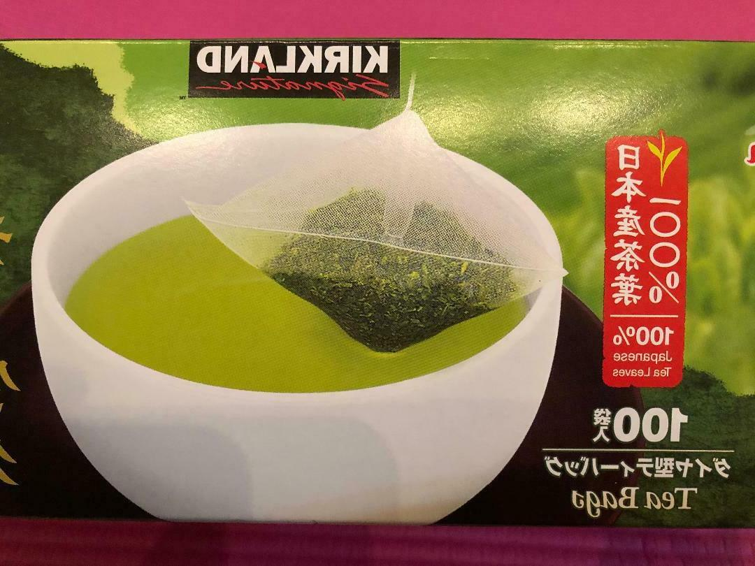 **Kirkland Japanese Green Tea Sencha Matcha ~ Free S&H