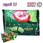 Kit Kat Matcha Green Tea JAPAN Nestle Mini Bars 12 Bags/ 144