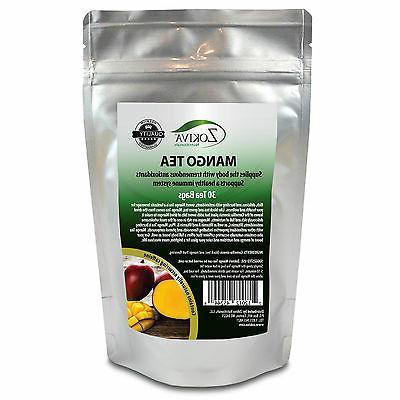 Mango Tea 30 Bags 100% Natural Premium Camellia sinesis in R