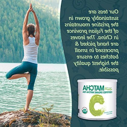 MatchaDNA 1 Organic Green Tea Powder