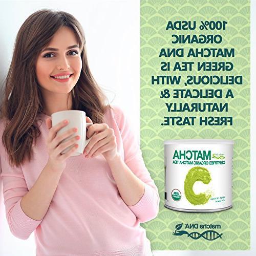 MatchaDNA 1 Organic Matcha Tea Powder