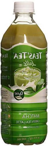 Teas' Tea Matcha Green Tea Latte 16.9 oz Plastic Bottles - P