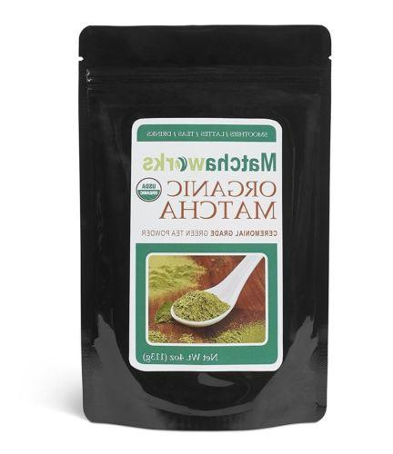 matcha green tea powder ceremonial