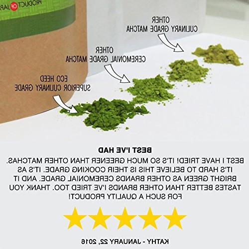 Matcha Green - Superior Culinary USDA From Japan -Natural Booster )