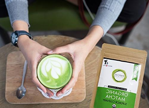 Matcha Green Tea -Natural Energy & Booster Packed )