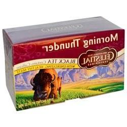 Celestial Seasonings Morning Thunder - 20 Tea Bags - Case of