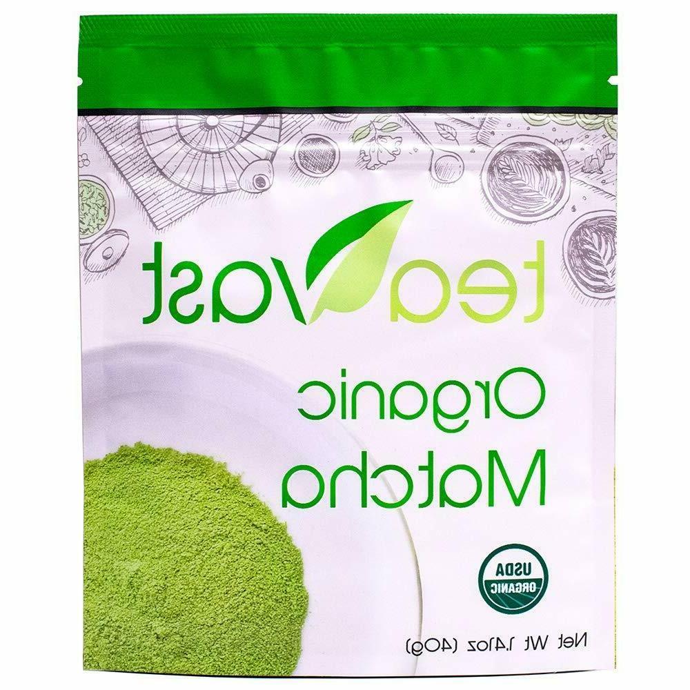 new matcha green tea 40 gm pure