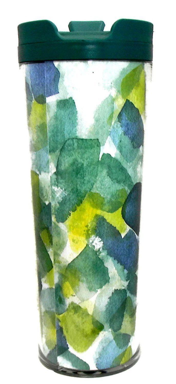 NEW STARBUCKS Summer Green Watercolor Tumbler Coffee/Tea Mug