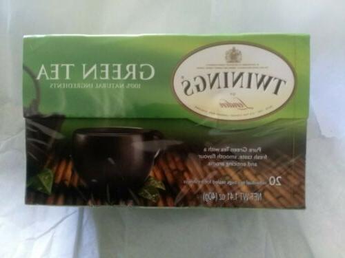 Twinings Of London Green Tea 1.48oz 100% Natural Ingredients
