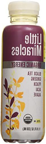 Little Miracles Organic Black and Ginseng Tea, 11.16 Fluid O
