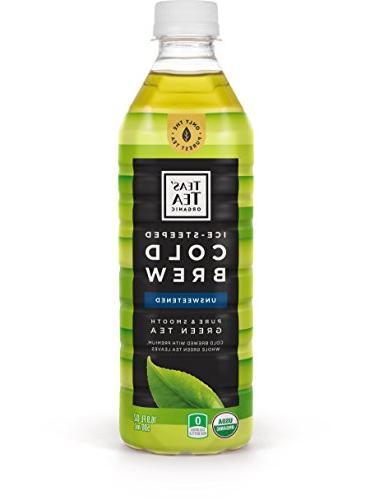 organic cold brew unsweetened green