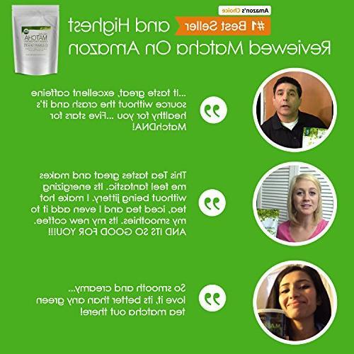 MatchaDNA Organic Green oz