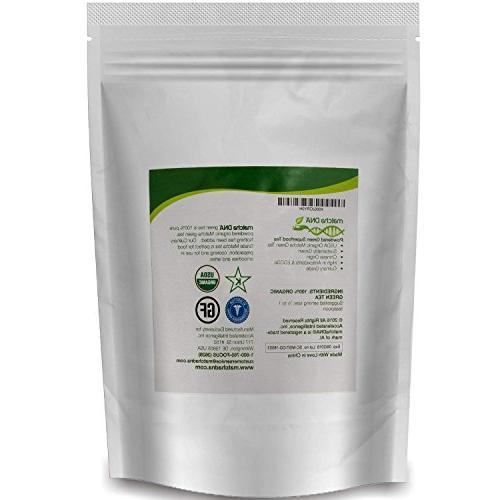 MatchaDNA Organic Matcha Green 16 oz