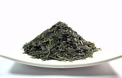 Organic Japanese style green tea premium sencha loose leaf t