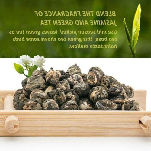 Premium Organic Jasmine Green Tea Dragon Ball Tea Loose Leaf