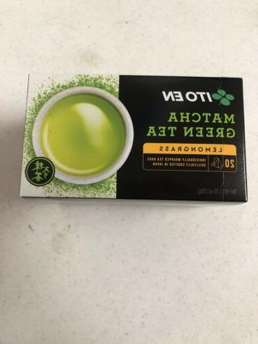 Ito En Organic Matcha Green Tea Lemongrass