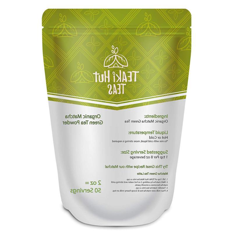 TEAki Organic Green Tea Powder oz Ex