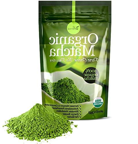 Organic Green Powder - 100% Pure Matcha