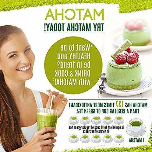 uVernal Organic Matcha Tea Powder 100%