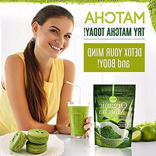 uVernal Matcha Tea - Pure Matcha 4oz