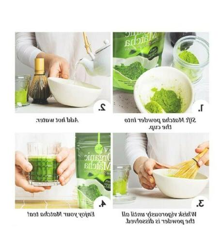 Organic Matcha Tea Powder 100% Matcha Smoothies