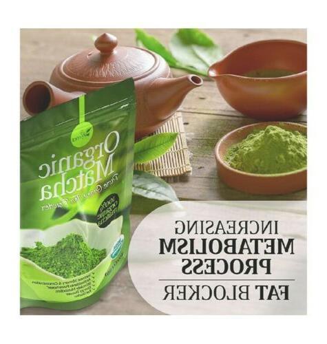 Organic Green Tea 100% Pure Smoothies