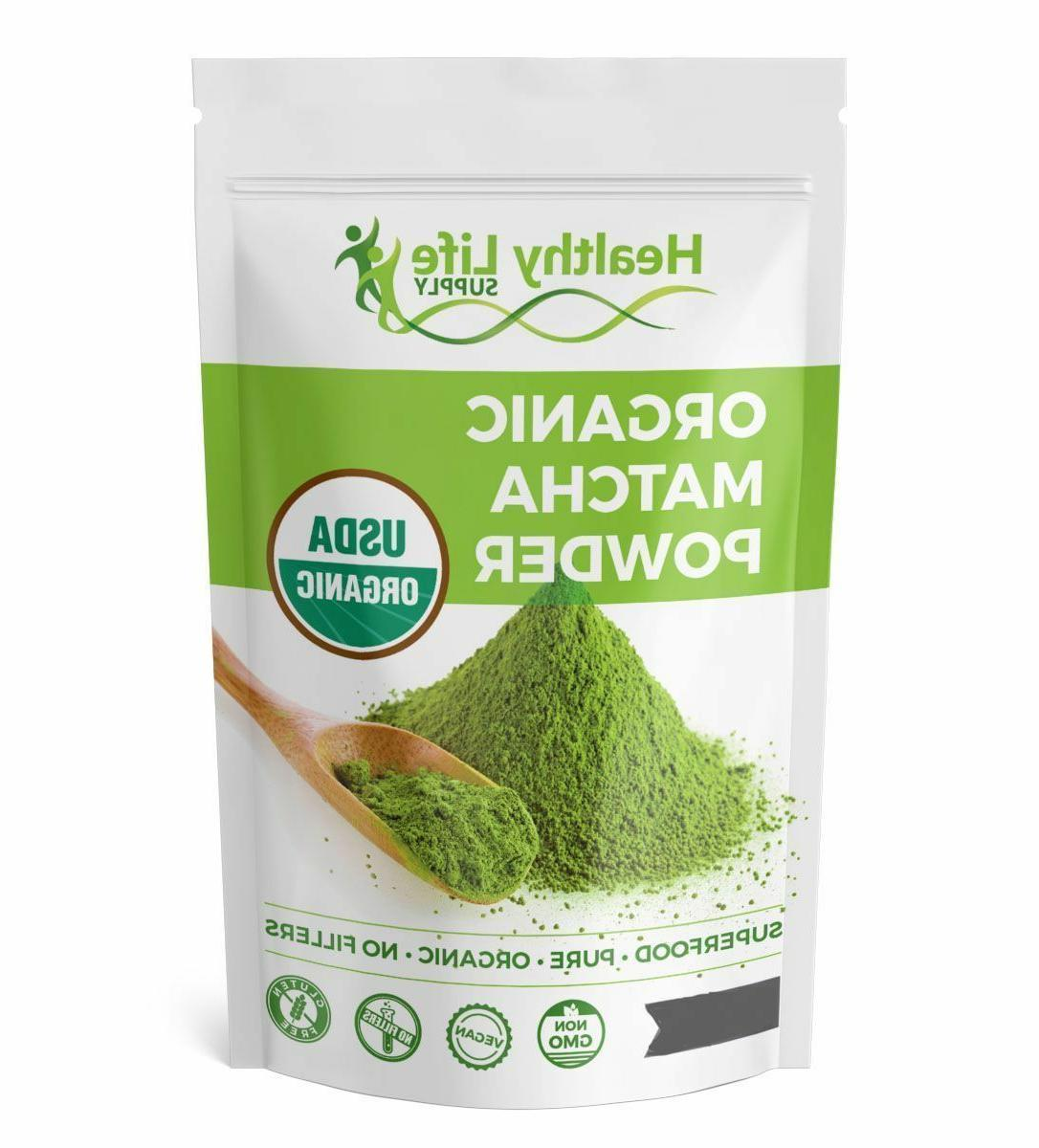 organic matcha green tea powder usda organic