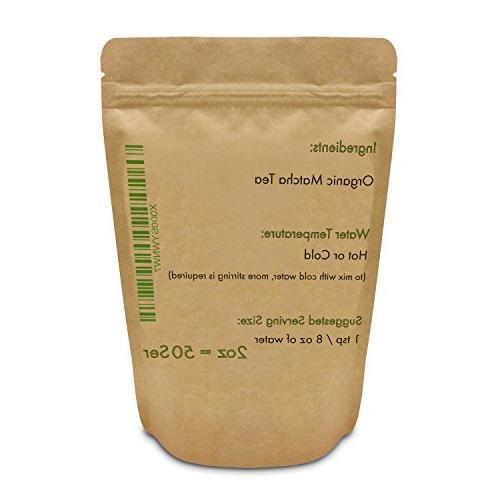 Organic Matcha Powder Grade 2 oz - Excellent Loss More Antioxidants than Green Bags- Matcha Tea, or Lattes