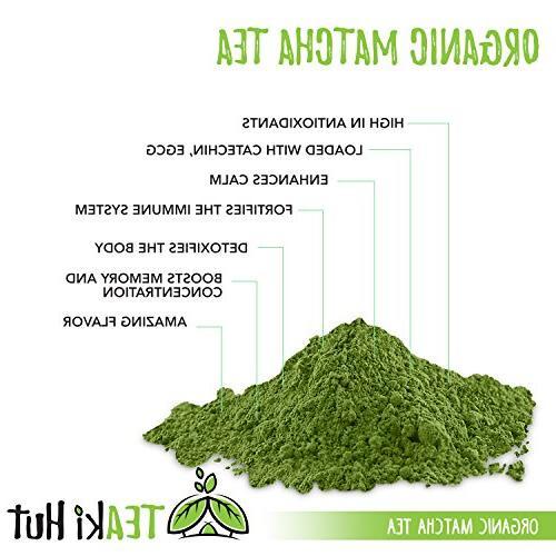 Organic Matcha Powder Culinary oz - Weight Loss - More Antioxidants than Tea Bags- Great Matcha smoothies or Lattes