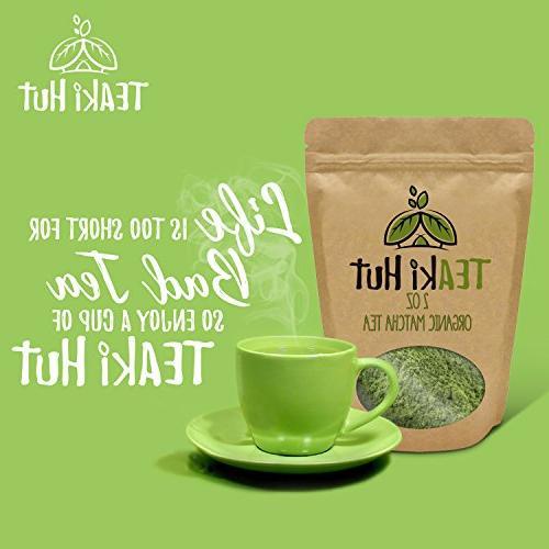 Powder Grade 2 oz Excellent Loss Benefits Antioxidants than Bags- Great making Matcha Tea, or Lattes
