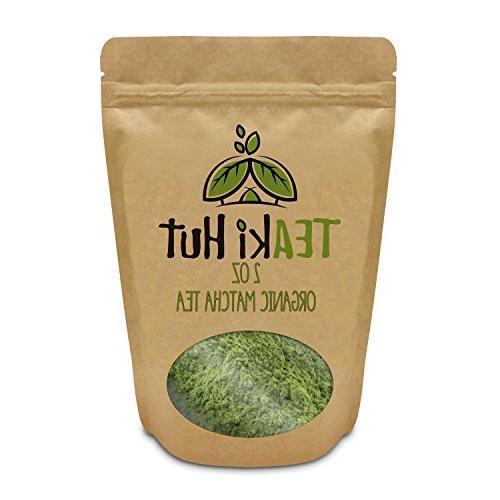 Organic Matcha Powder Culinary Grade oz - Excellent Loss - Antioxidants Bags- Great Matcha Tea, or Lattes