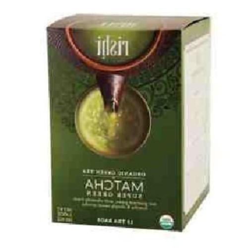 Rishi Tea Organic Matcha Super Green Tea 15 Bags Pack of 2,