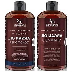 Art Naturals Organic Moroccan Argan Oil Shampoo and Conditio