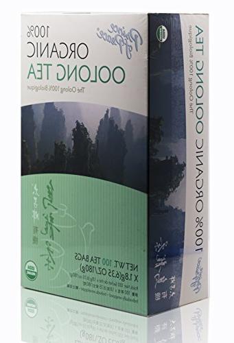 organic oolong tea 100