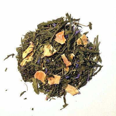 Pineapple Papaya Organic Green Tea, Choose loose leaf, tea b
