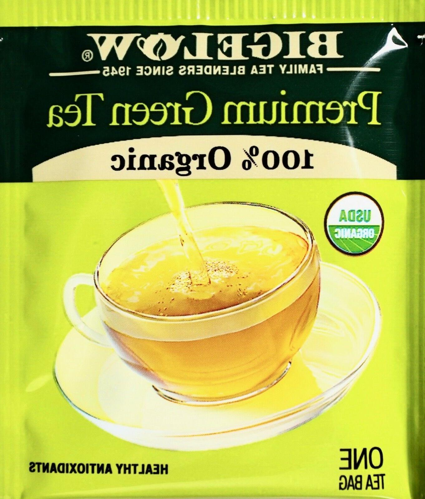 premium 100 percent organic chinese green tea