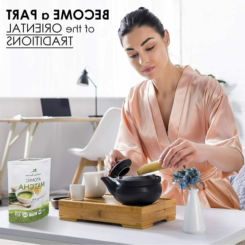 Matcha Premium Grade Green Powder 84g, 3oz