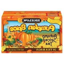 Bigelow Pumpkin Spice Tea, 20-Count