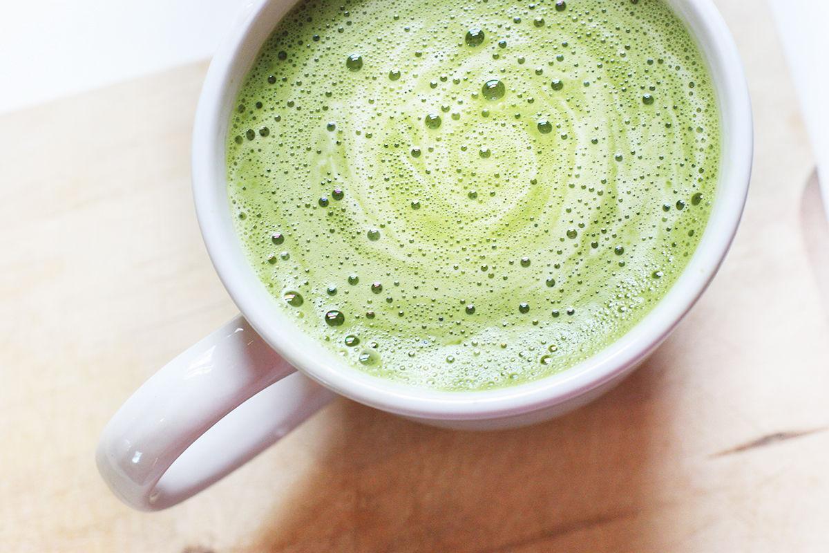 PURE GREEN TEA 1