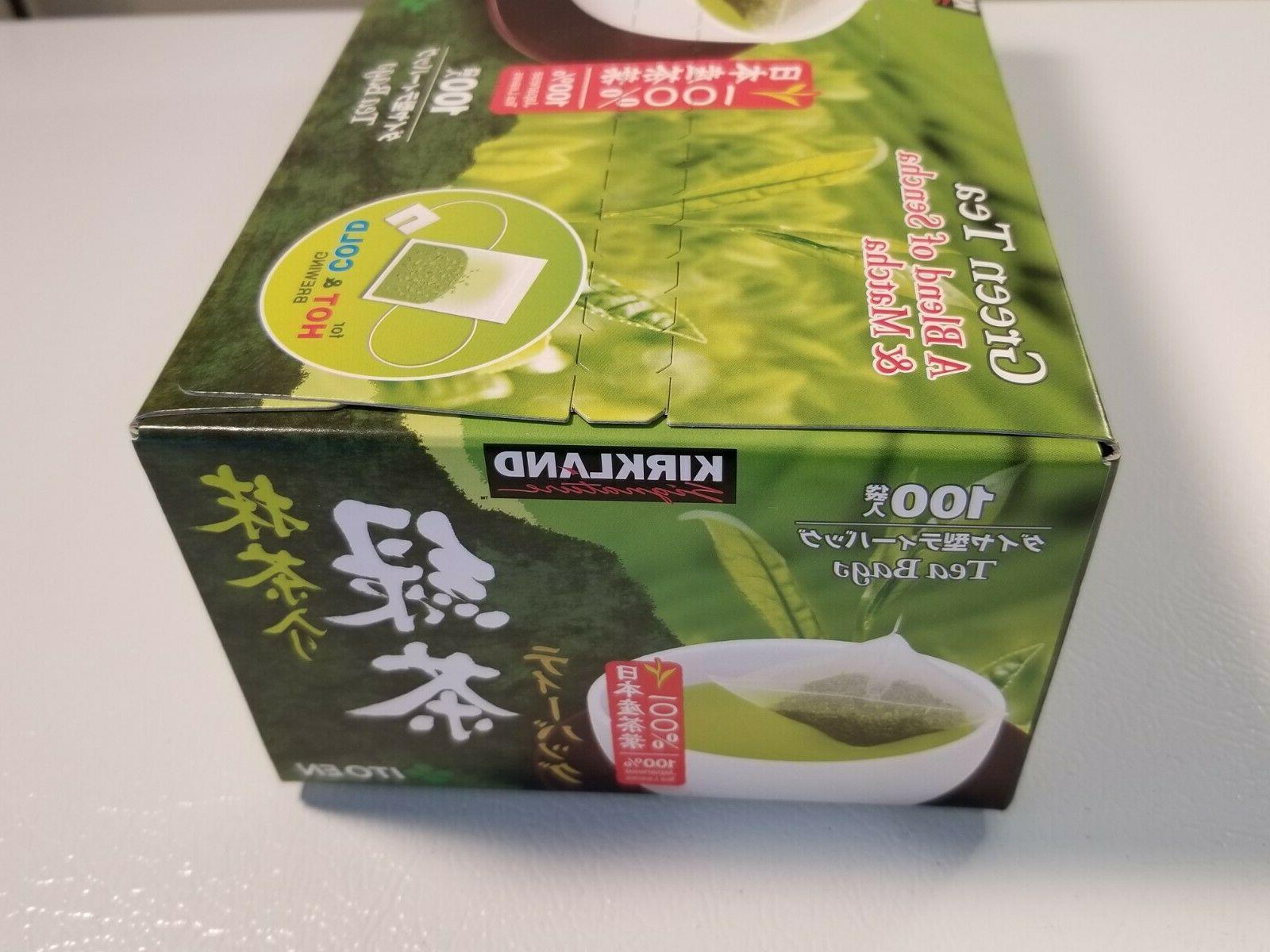 Kirkland Japanese Tea 100 Tea Bags Matcha
