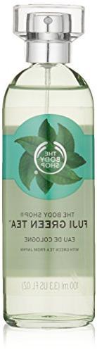 The Body Shop Tea Eau De Cologne, Fuji Green, 3.3 Fluid Ounc