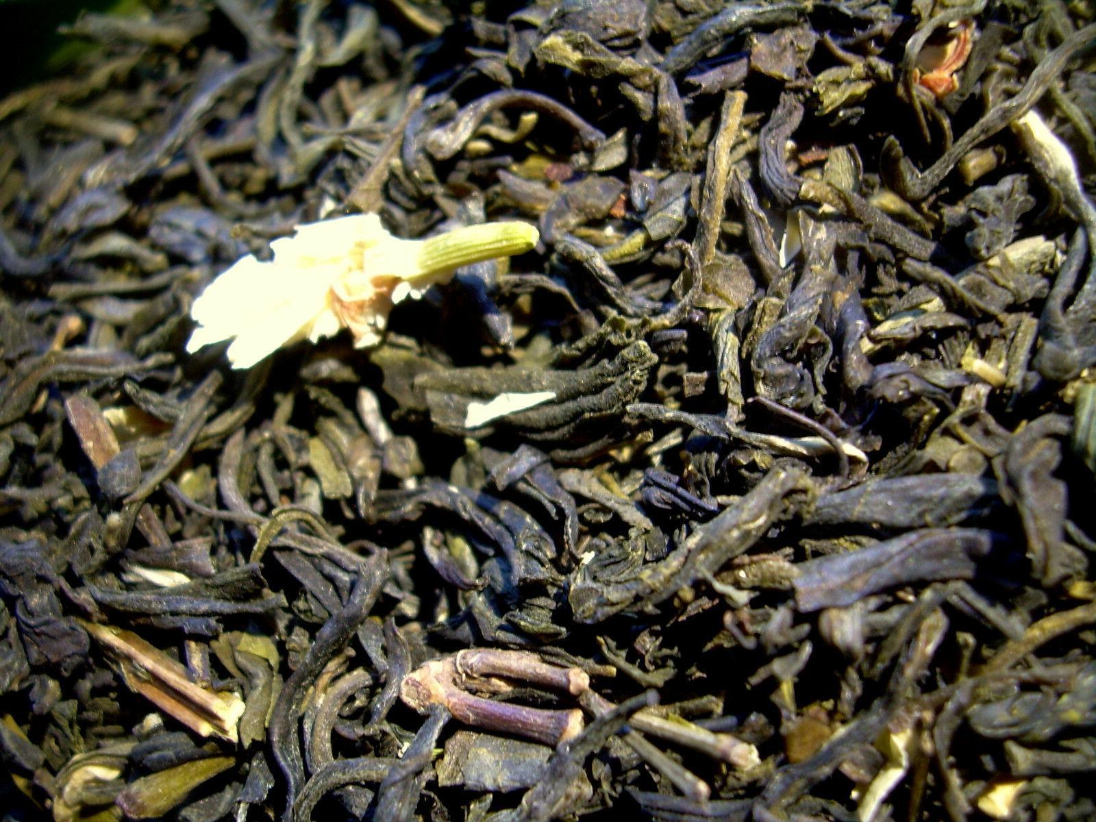 Tea Green Flowers Tea