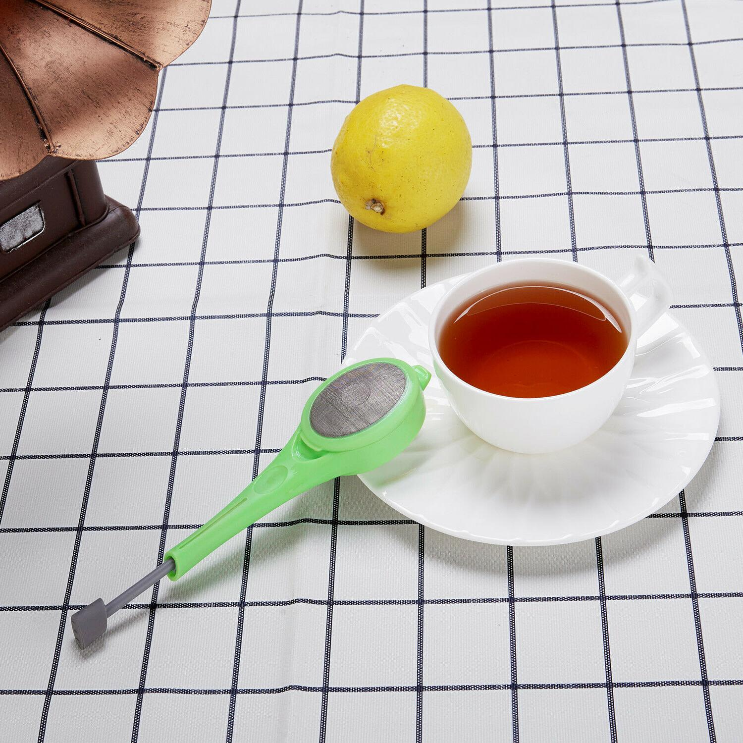 Tea Infuser Strainer Silicone Filter Tool SHIPPING