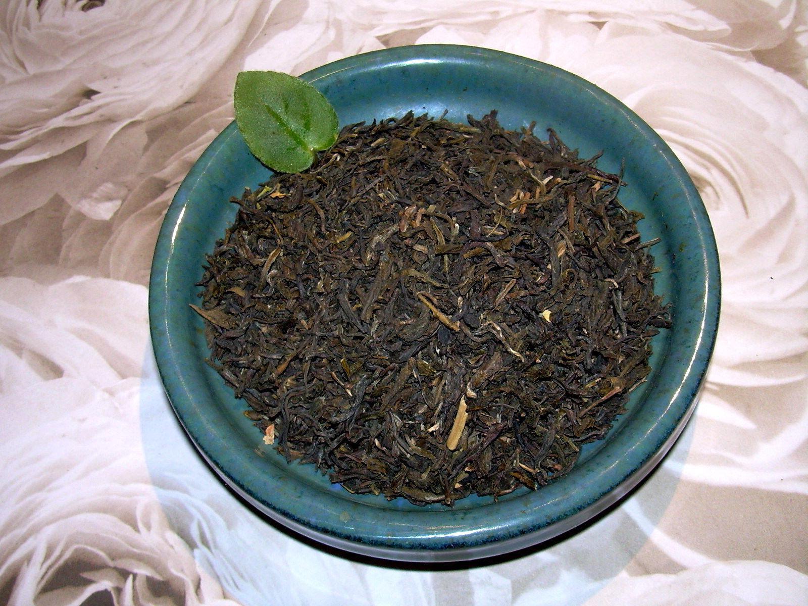 Tea Jasmine Green Loose Leaf  Asian Green Tea Blend All Natu