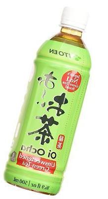 Ito En Tea Oi Ocha Green Tea Unsweetened 16.9 Ounce