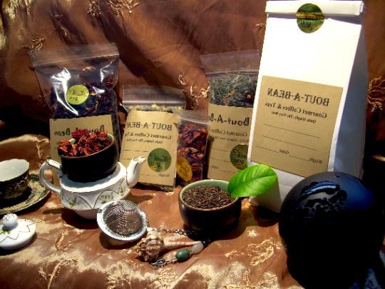 Tea Green With Jasmine Flowers Leaf Tea Blend