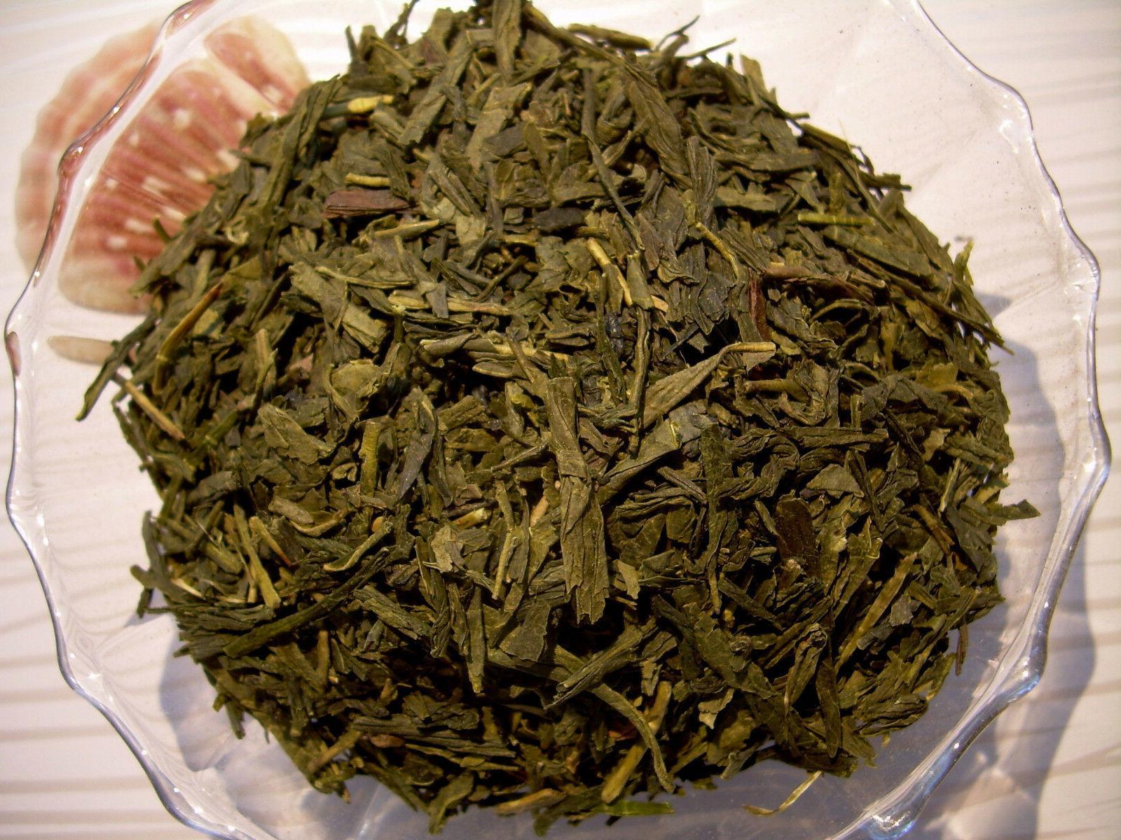 Tea Premium ORGANIC Green Sencha Loose Leaf Aged Natural