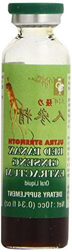 Prince of Peace Ultra Strength Red Panax Ginseng Extractum 1