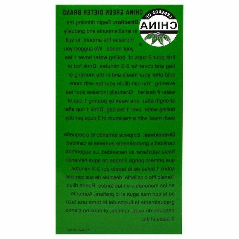Uncle Lee's China Green Dieters Caffeine - 30 1 pack